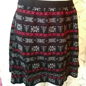 Joe B. knit skirt-sz XL